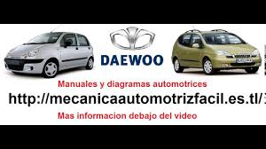 daewoo manuales y diagramas youtube