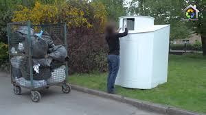 fabriquer cache poubelle process fabrication conteneur de collecte de deche youtube