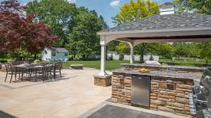 Paver Patio Installation Story Of A Landscape Outdoor Living Room With Porcelain Paver