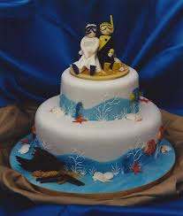 novelty wedding cakes novelty wedding cake with diving and undersea theme blueberry cakes