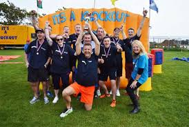 Challenge Knockout Pilgrims Hospice Charity It S A Knockout Challenge 2017