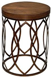 small round metal accent table fabulous round metal accent table