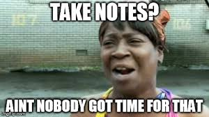 Meme Notes - notes imgflip