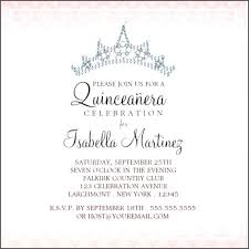 quinceanera invitation wording quinceanera invitation template together with invitations wording