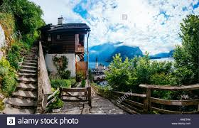 beautifulhomes beautiful homes in the mountains stock photo royalty free image