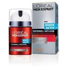 Serum Acne l or礬al expert white activ whitening anti acne volcano