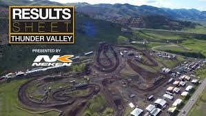 pro motocross results results sheet thunder valley motocross feature stories vital mx