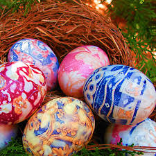Decorating Easter Eggs With Silk by Special Decorated Easter Eggs Bellissima Kids Bellissima Kids