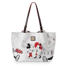 dooney and bourke mickey and minnie cafe leather tote mickey fix