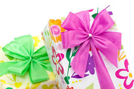 wrapped presents with bows royalty free stock photos image 13727218