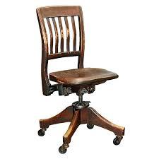 wood desk chair with wheels simple desk chair ventureboard co