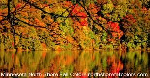 north shore fall colors fall color reports minnesota