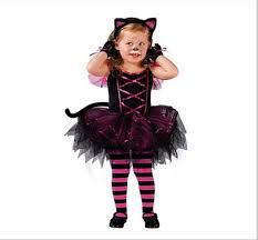 Halloween Princess Costumes Aliexpress Buy Kids Child Girls Kitty Cat Costume Carnival