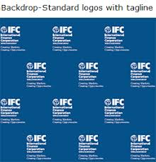 templates for ifc corporate branding materials with tagline logos