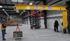 4 000 load test of 2 ton jib crane to 100 capacity cream city