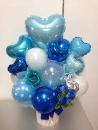 balloons for men baptism decorations ships in 2 5 business days baby blue