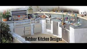 outdoor kitchen designs outdoor kitchen cabinets youtube
