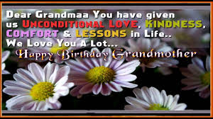happy birthday greetings to grandmother birthday wishes sms to
