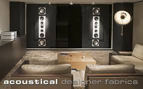 media room acoustic panels acoustical fabrics cineak home theater and private cinema