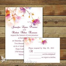 floral wedding invitations invitesweddings