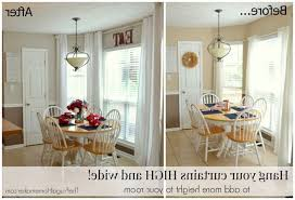 Hanging Curtains High And Wide Designs Hanging Curtains On Ceiling Great Ideas 2 Hang Your Curtains High