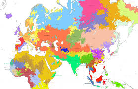 Haplogroup World Map by Genes Prince Eugene