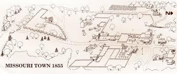 map of missouri map of missouri town jackson county parks rec mo