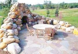 Backyard Fireplaces Ideas Standout Stone Outdoor Fireplaces Welcome To A New Stone Age