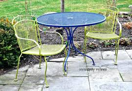 Old Metal Outdoor Furniture by White Metal Patio Dining Set Vintage White Metal Patio Furniture 6