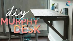 Desk Small Diy Murphy Desk Small Space Solutions