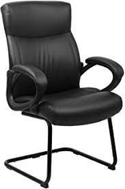 fauteuil de bureau sans fauteuil chaise de bureau sans ergonomique en cuir noir