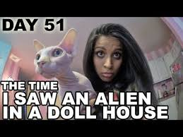 Saw Doll Meme - the time i saw an alien in a doll house day 51 youtube