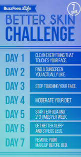Water Challenge Buzzfeed Take Buzzfeed S 7 Day Better Skin Challenge