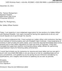 Enforcement Letter Of Recommendation Exle Security Guard Cover Letter Resume Genius Cheif Security Officer