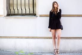 playsuit with lace up front
