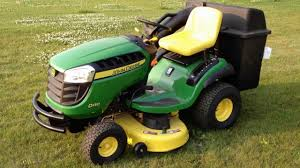 2012 d130 john deere mower walkaround youtube