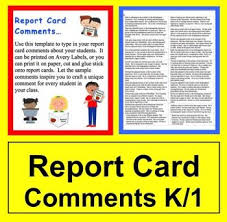 best 25 report card template ideas on pinterest kindergarten