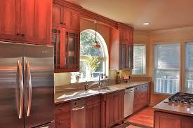kitchen room design furniture dark gray color painting old oak