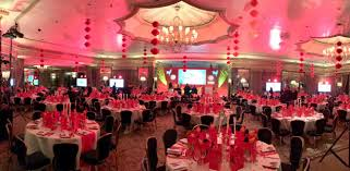New Year Dinner Decoration by London Master Of Ceremonies At 48 Group 2017 Chinese New Year