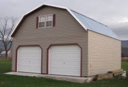 Gambrel Roof Garages by 24x24 Prefab 2 Story Garages
