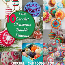 10 crochet baubles that are easy to make crochet