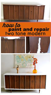 two tone mid century modern furniture two tones how to paint