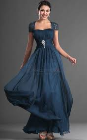 off the shoulder chiffon ink blue long bridesmaid dress in blue