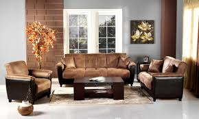 furniture stunning harlow two tone sectional living room set tan