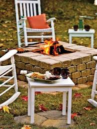backyard fire pit diy home fireplaces firepits backyard