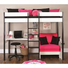 Cheap Loft Bed Design by Best 25 Bunk Bed With Desk Ideas On Pinterest Girls In Bed