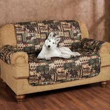 Cabin Sofa Lodge Quilted Microfiber Pet Furniture Covers