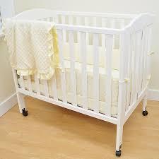 Porta Crib Bedding Set by Amazon Com American Baby Company Heavenly Soft Minky Dot