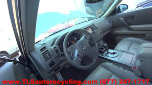 parting out 2005 infiniti fx35 stock 6392bk tls auto recycling
