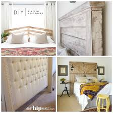 Simple Headboard Ideas by 8 How To Make A Diy Headboard Tip Junkie